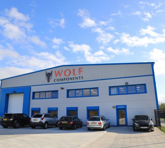 Wolf Components' purpose-built pocket springs facilities building exterior, a technologically advanced pocket springs supplier